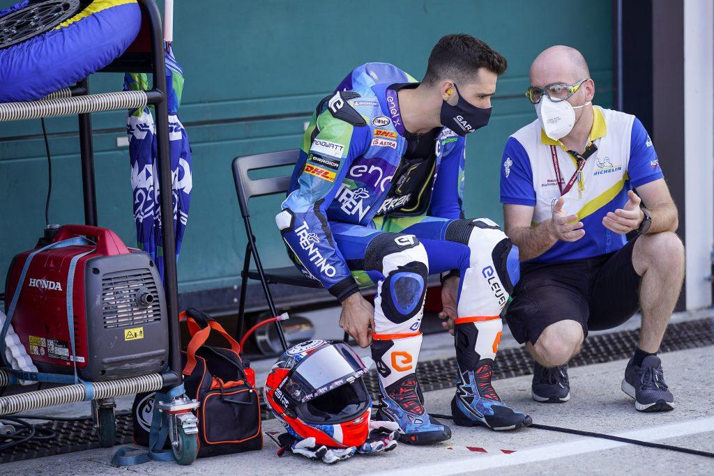 FERRARI SUBITO IN TOP3 NELLE LIBERE DELL'#EMILIAROMAGNAGP - Gresini Racing