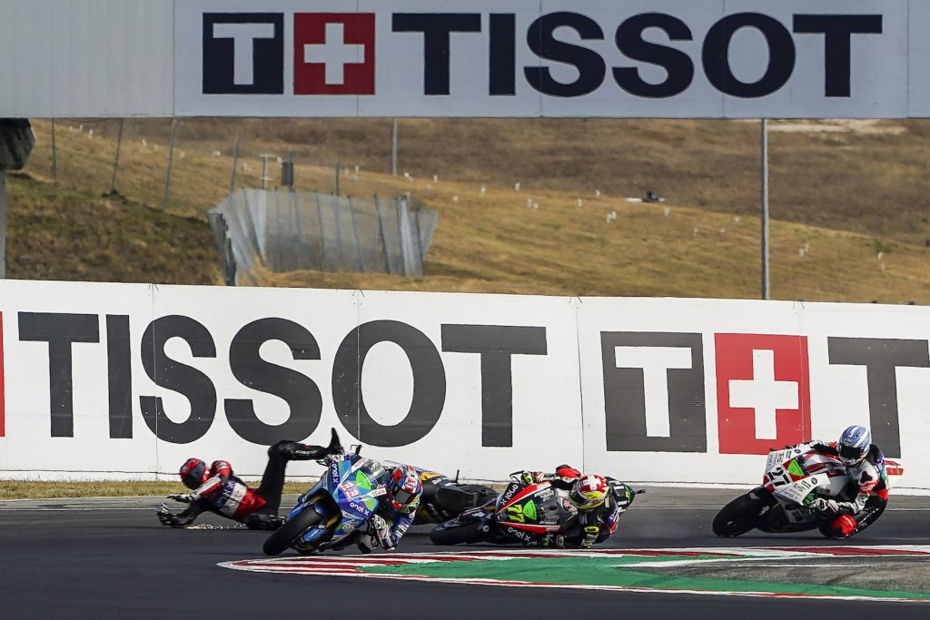 FERRARI WINS AND TAKES LEAD, ZACCONE SCORES A SUPER TOP 5 RESULT    - Gresini Racing