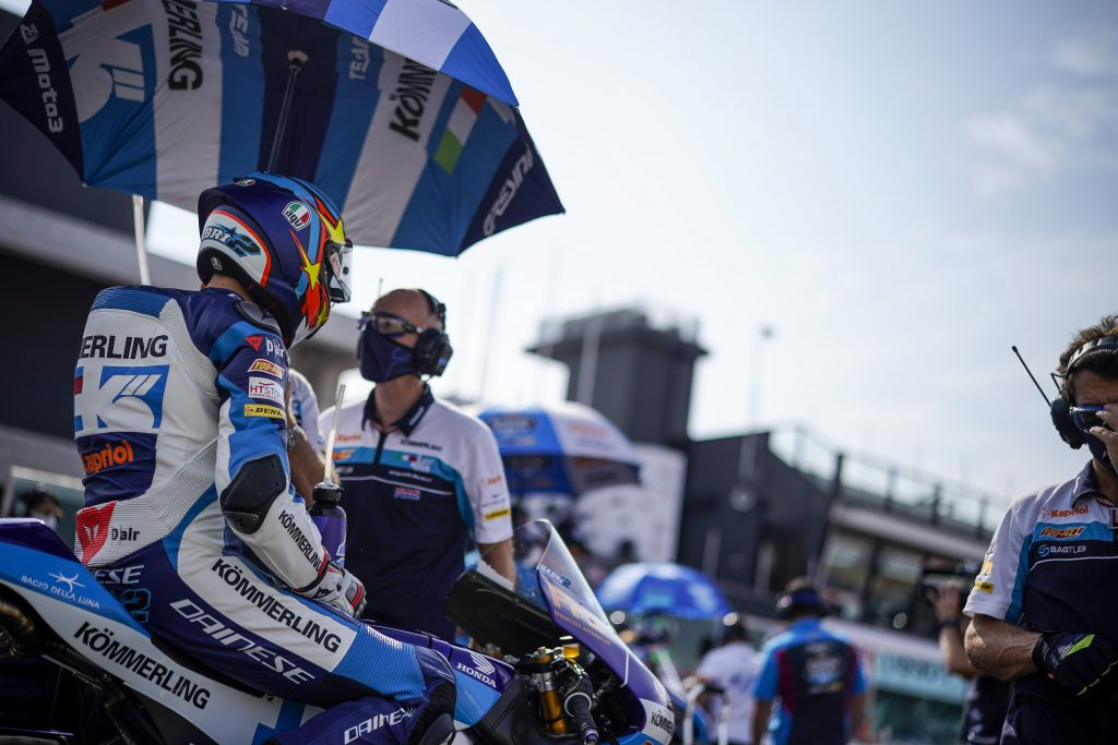 NO SUNDAY MORNING GLORY FOR TEAM KÖMMERLING AT MISANO      - Gresini Racing