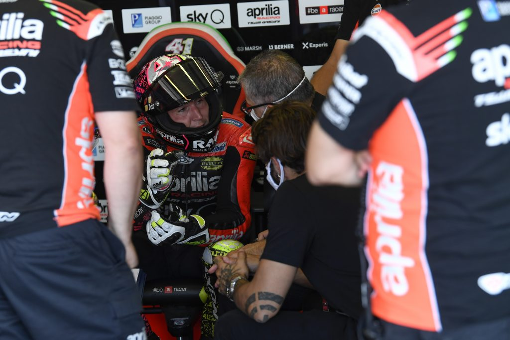 ALEIX DEMONSTRATES SOLIDITY IN THE OPENING PRACTICES AT MISANO - Gresini Racing