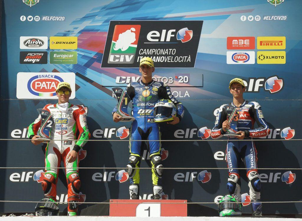 LA STORIA SI RIPETE: GIOMBINI PODIO, ZANNONI 4º   - Gresini Racing