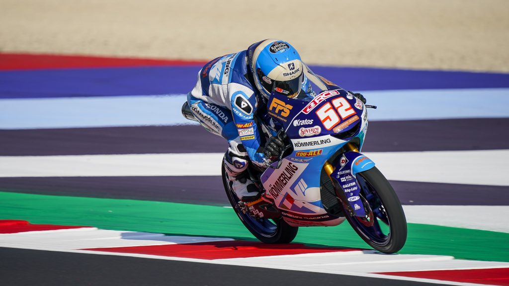 RODRIGO LOWSIDE E SECONDO POSTO A MISANO,ALCOBA VENERDÌ DI STUDIO   - Gresini Racing