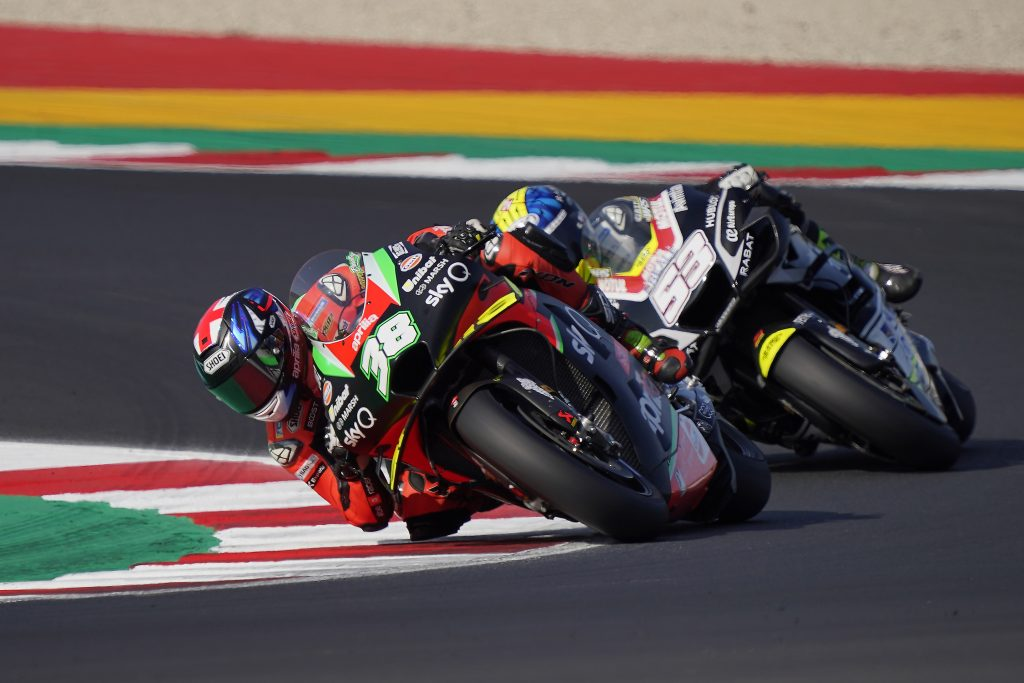 SIXTH AND SEVENTH ROW FOR ESPARGARÓ AND SMITH IN THE SECOND GP AT MISANO - Gresini Racing