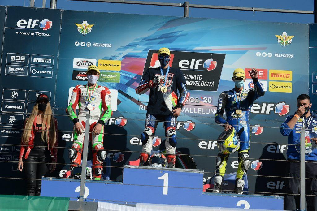 KEVIN ZANNONI È CAMPIONE ITALIANO MOTO3 - Gresini Racing