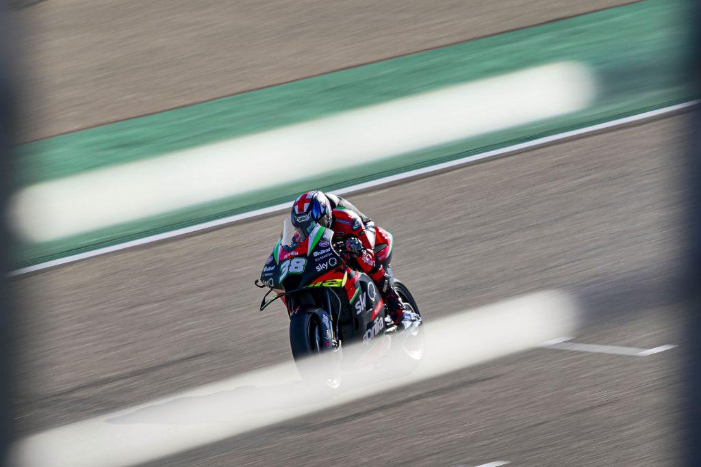 THE SECOND WEEKEND AT ARAGÓN BEGINS WELL FOR APRILIA - Gresini Racing