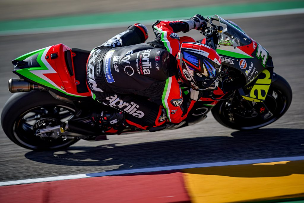 ALEIX SIXTH ON THE FIRST DAY OF PRACTICE AT ARAGÓN - Gresini Racing