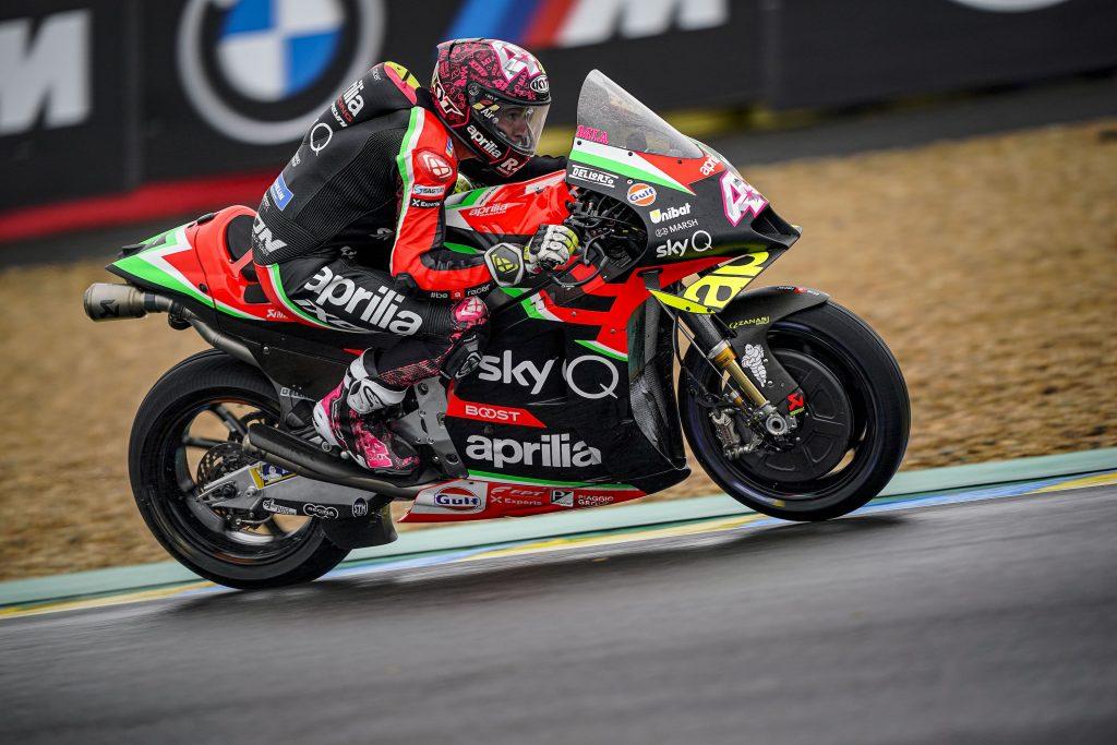 INIZIA NEL SEGNO DEL METEO IL WEEKEND MOTOGP DI LE MANS - Gresini Racing