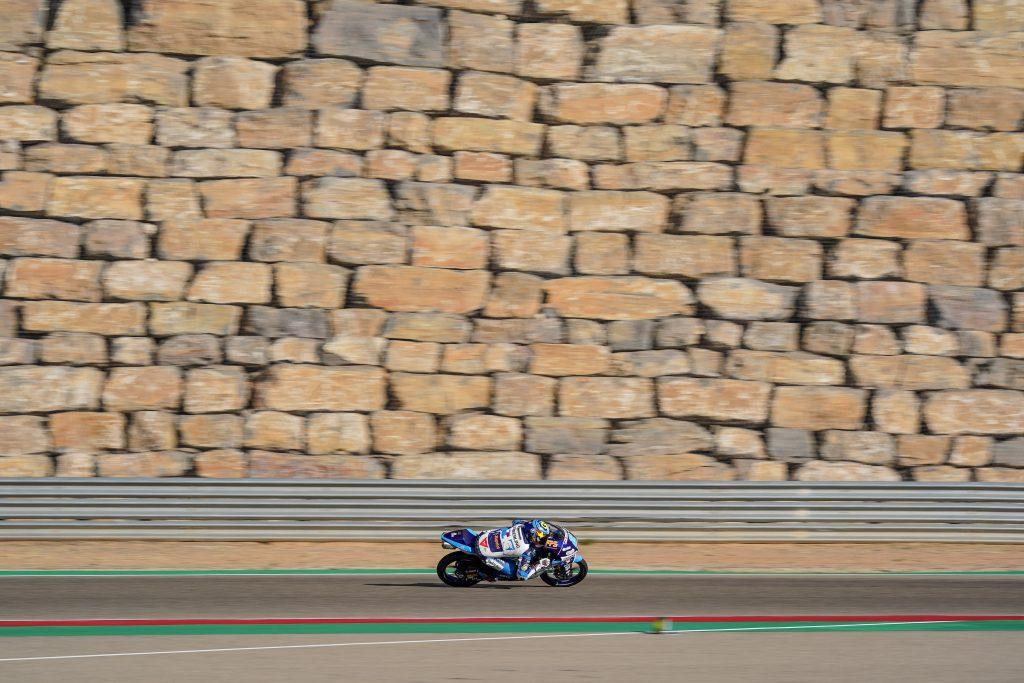 THIRD ROW START FOR RODRIGO AT ARAGON   - Gresini Racing