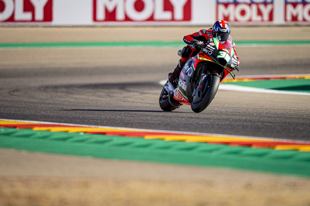 ALEIX TO START FROM THE FIFTH ROW IN THE TERUEL GP - Gresini Racing