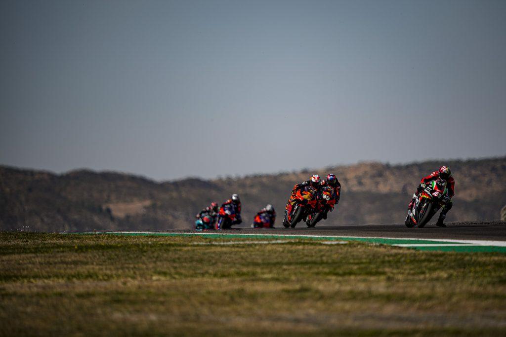 AD ARAGON GARA OPACA PER ALEIX E BRADLEY - Gresini Racing