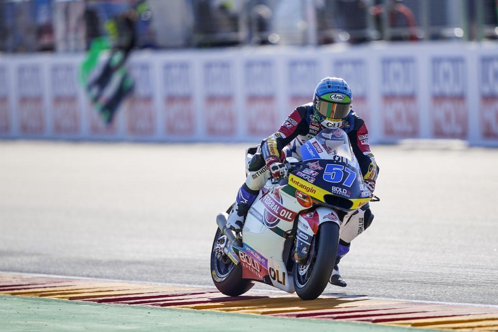 SOLO QUINTA FILA PER PONS AD ARAGON - Gresini Racing