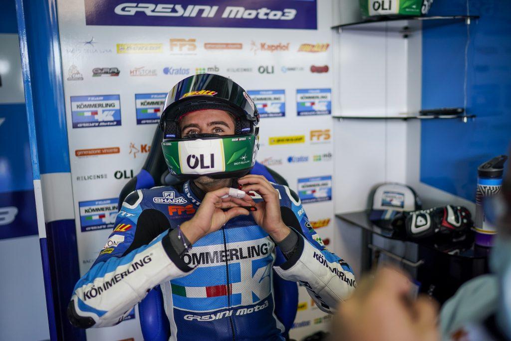 ARAGON VERSIONE INVERNALE, VENERDì OK PER IL TEAM KÖMMERLING   - Gresini Racing