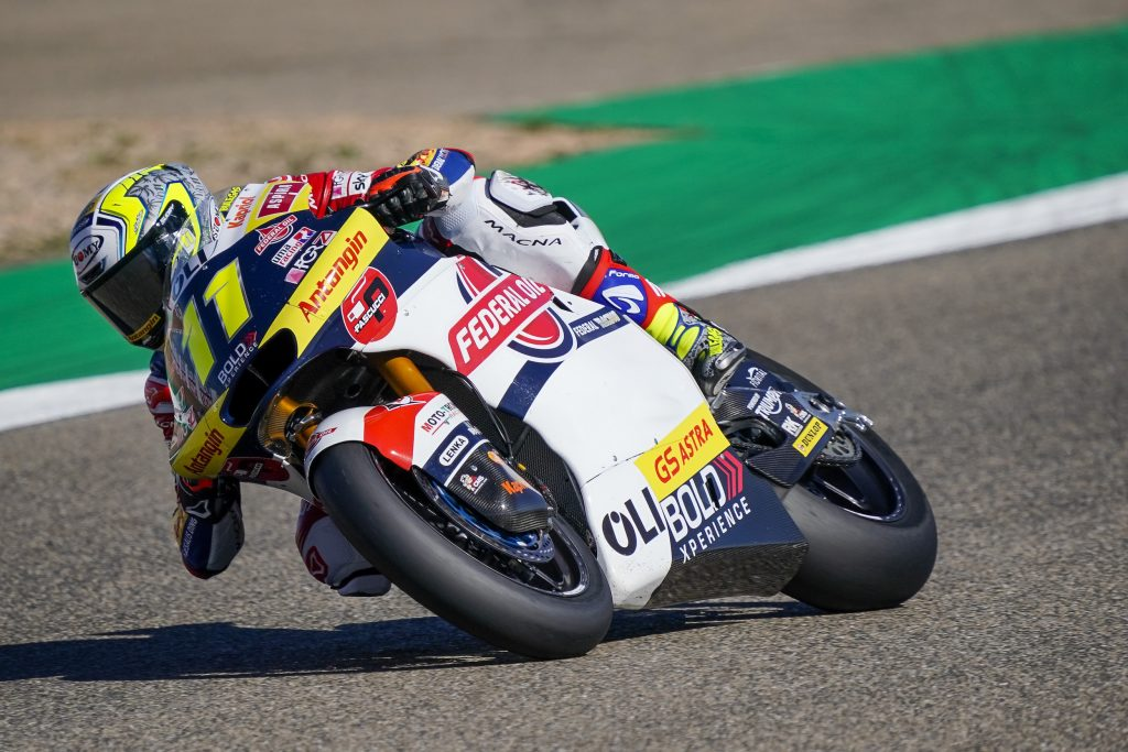 TOP10 PER BULEGA E PONS NELLE LIBERE DI ALCAÑIZ - Gresini Racing
