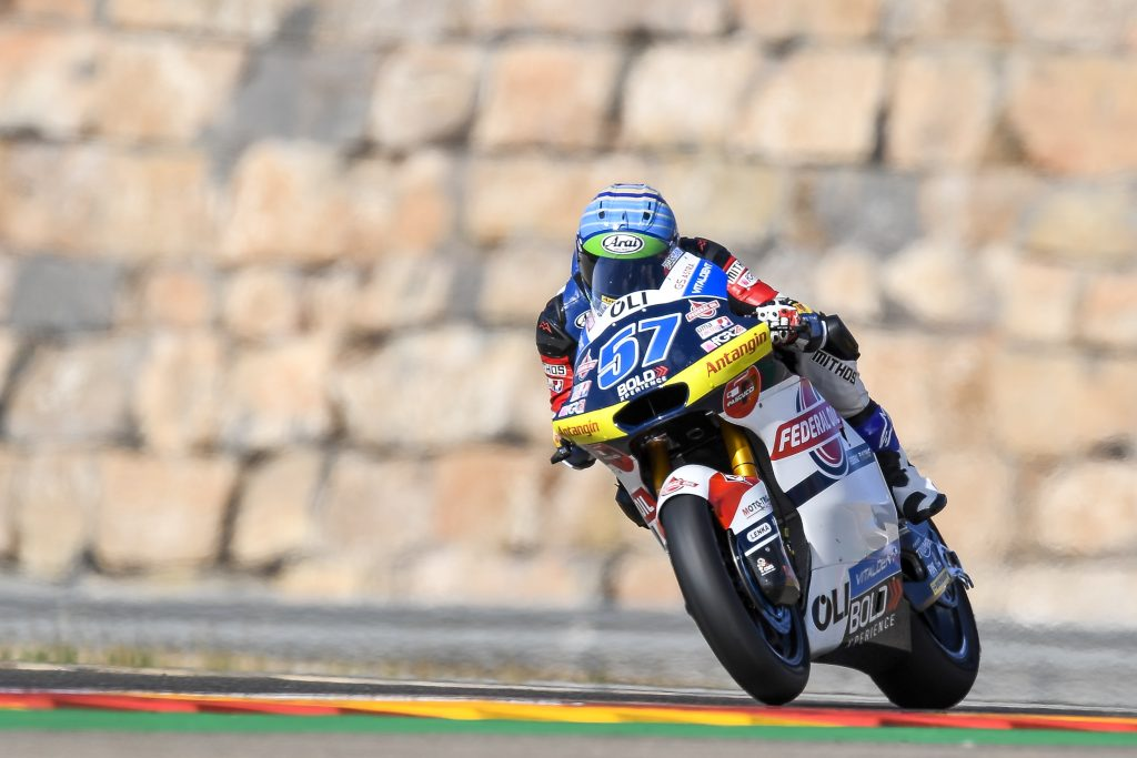 PONS VOLA NELLE LIBERE DI ARAGON   - Gresini Racing