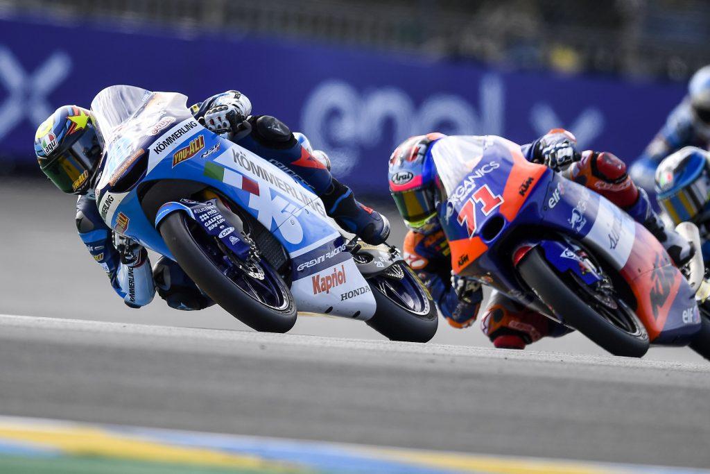 LE MANS: RODRIGO A PUNTI, ALCOBA RIMONTA E CADUTA     - Gresini Racing