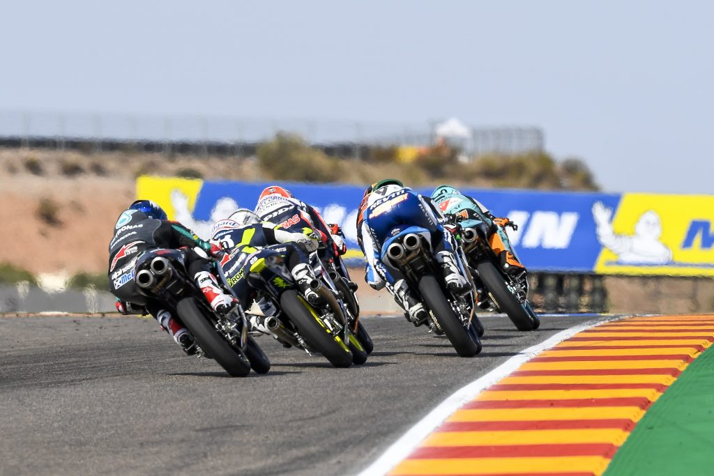 A SUPER ALCOBA INSIDE TOP SIX AT ARAGON - Gresini Racing