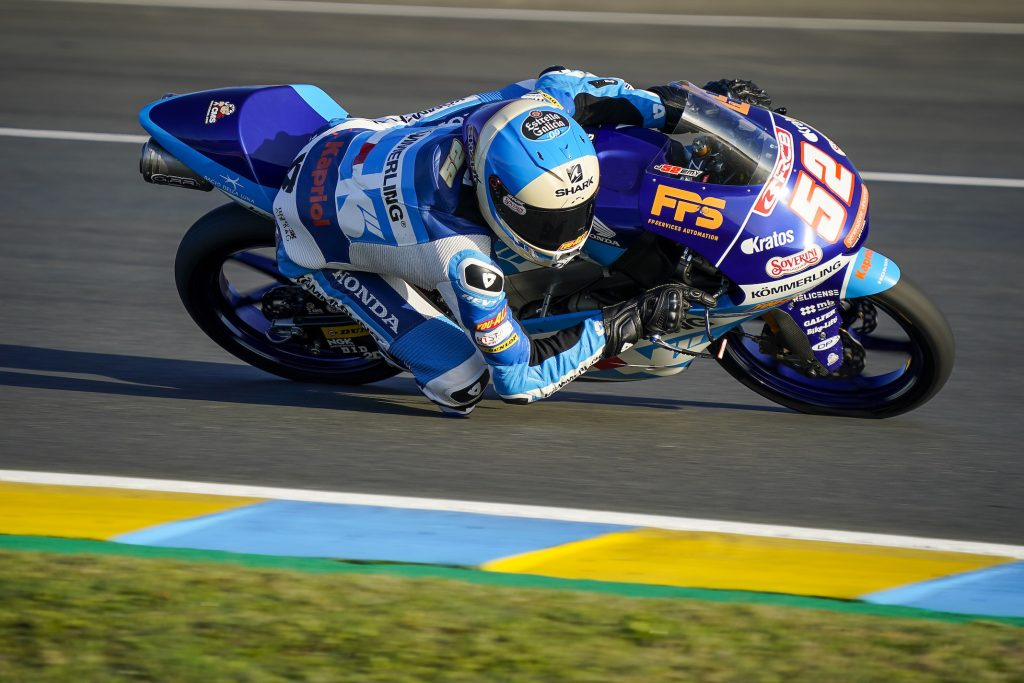 RODRIGO DALLA SECONDA FILA A LE MANS   - Gresini Racing