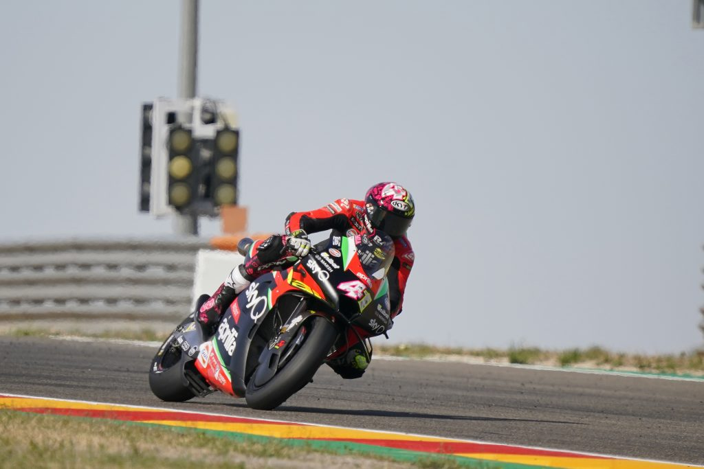THIRD ROW FOR ALEIX AFTER THE QUALIFIERS AT MOTORLAND DE ARAGÓN - Gresini Racing