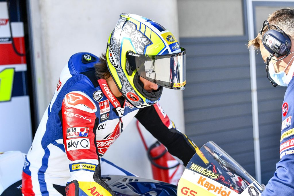NON BRILLA IL TEAM FEDERAL NELLE QUALIFICHE DI ARAGON - Gresini Racing