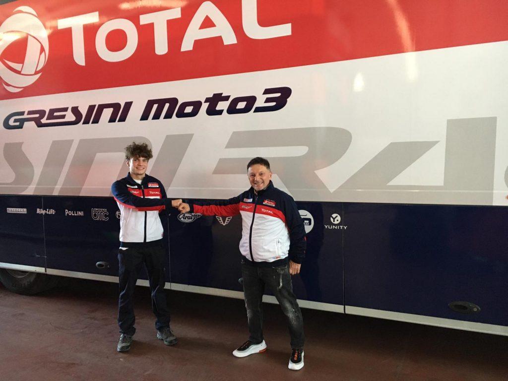I GIOVANI AL CENTRO DEL PROGETTO GRESINI - Gresini Racing