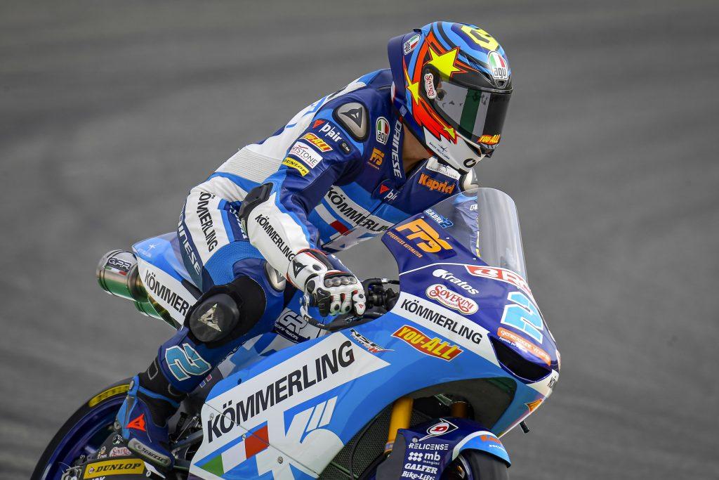 QUALIFICHE A CHESTE: ALCOBA IN 5ª FILA, RODRIGO SPERONATO   - Gresini Racing