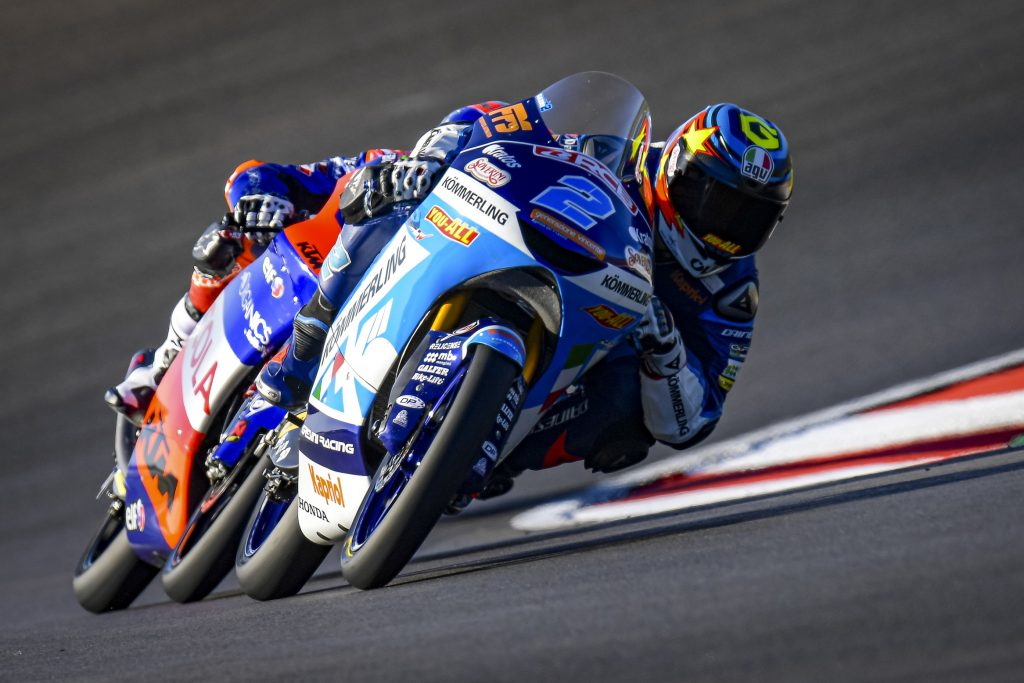 ALCOBA ON FIRE, FRONT ROW AT PORTIMAO    - Gresini Racing