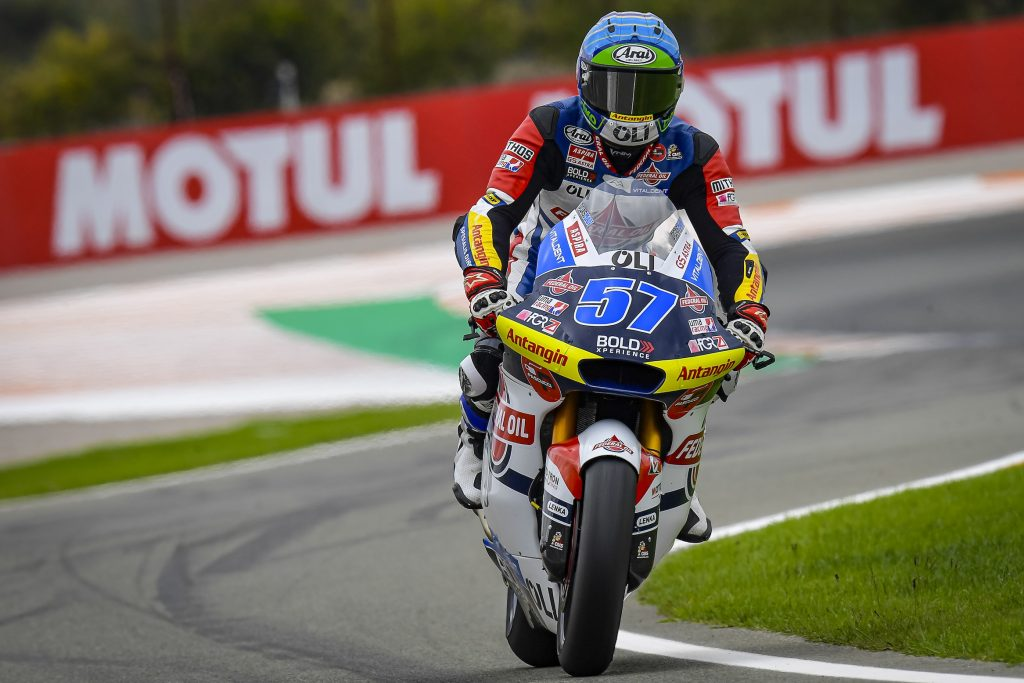 ROW FIVE AND SEVEN FOR TEAM FEDERAL OIL AT VALENCIA       - Gresini Racing