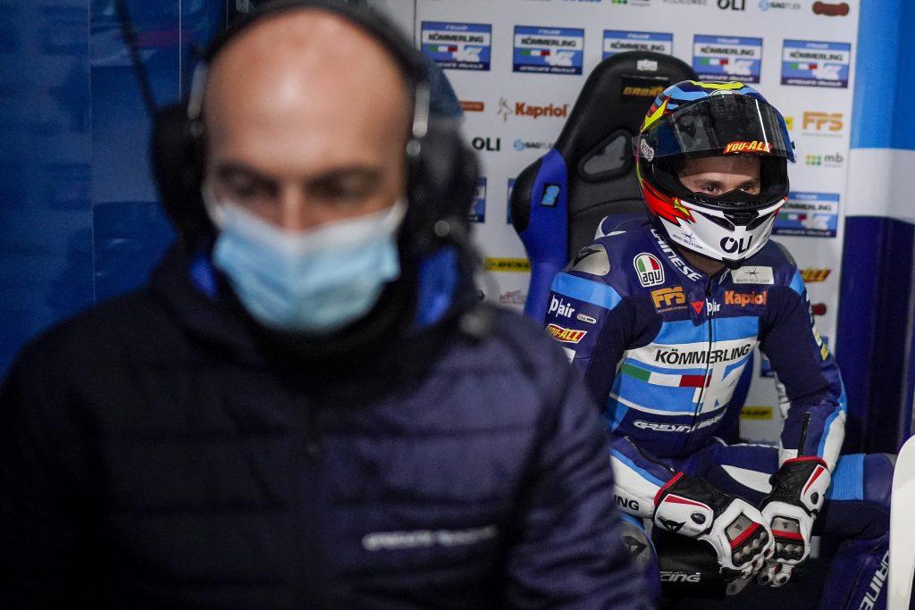CHESTE QUALIFYING: ALCOBA FROM FIFTH ROW, RODRIGO TAKEN OUT   - Gresini Racing