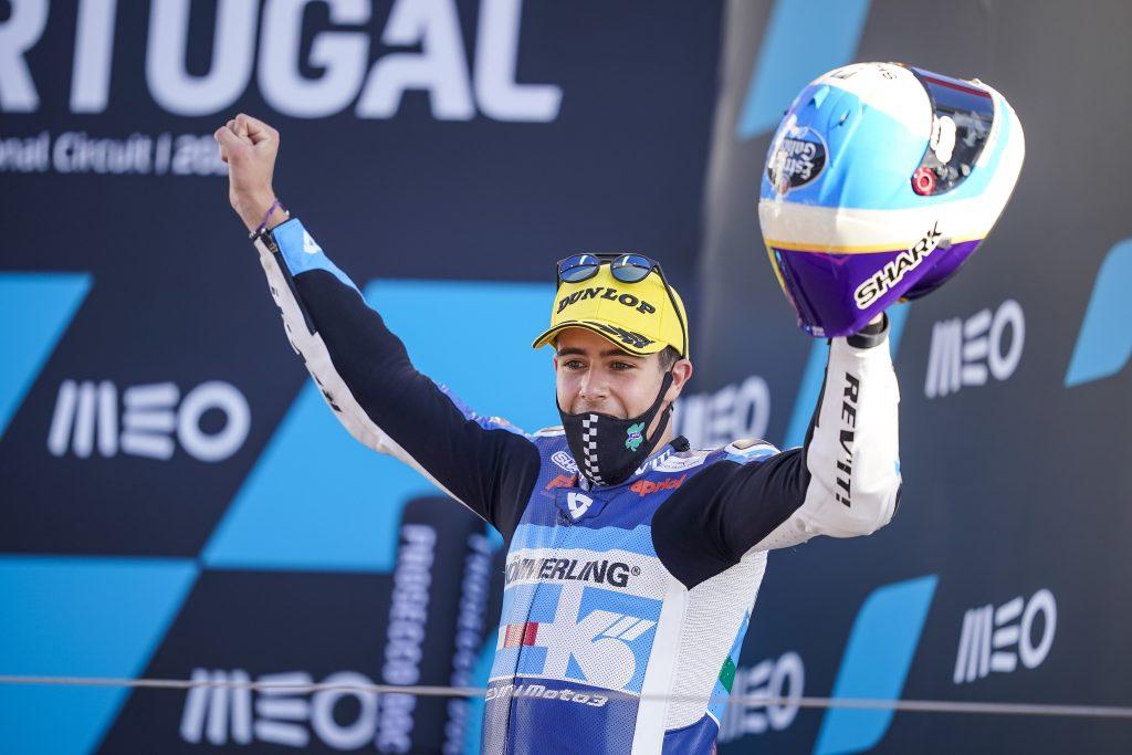MISSION ACCOMPLISHED: ALCOBA ON THE PODIUM AT PORTIMAO   - Gresini Racing