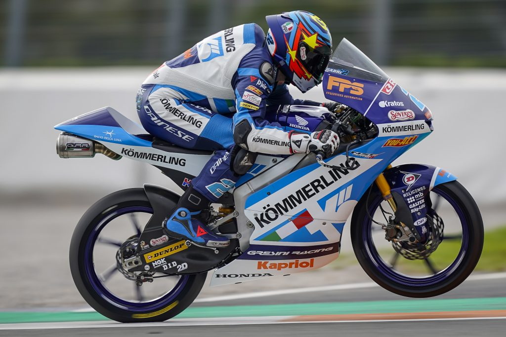 VALENCIA FRIDAY: TOP TEN FOR ALCOBA, RODRIGO ON THE CHASE - Gresini Racing