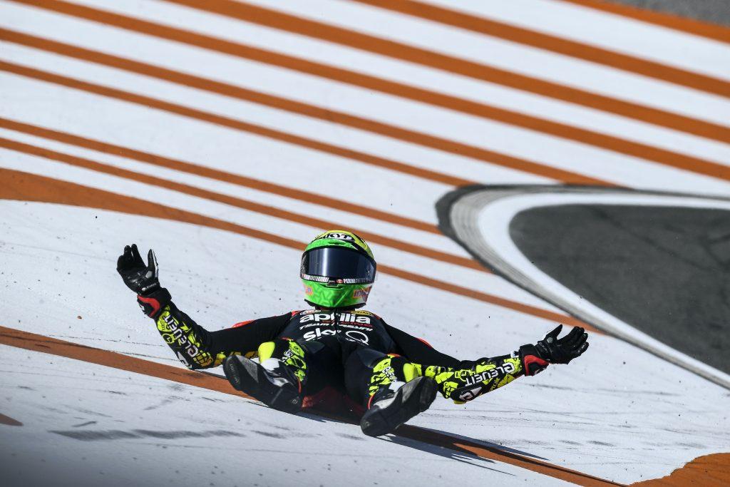 LA PRIMA GARA DI VALENCIA NON SORRIDE AL TEAM APRILIA - Gresini Racing
