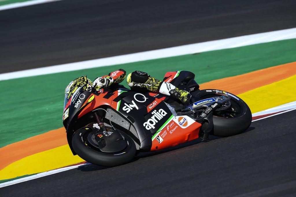 APRILIA SUGLI SCUDI NELLE PRIME PROVE A PORTIMAO - Gresini Racing