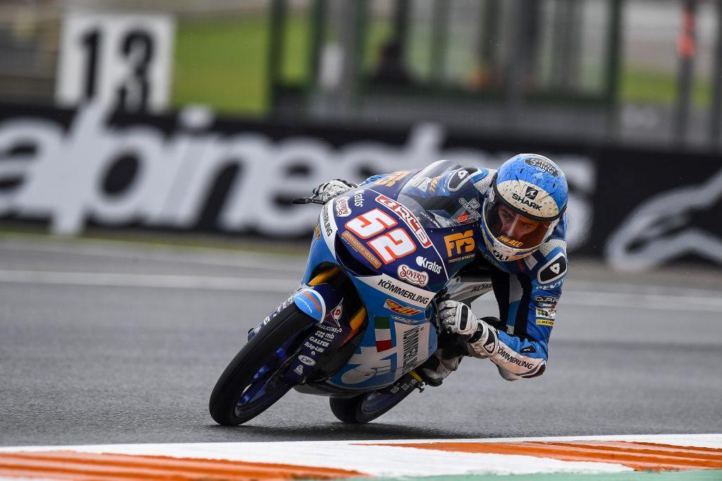 BAD WEATHER SLOWS DOWN PROCEEDINGS FOR TEAM KÖMMERLING GRESINI   - Gresini Racing