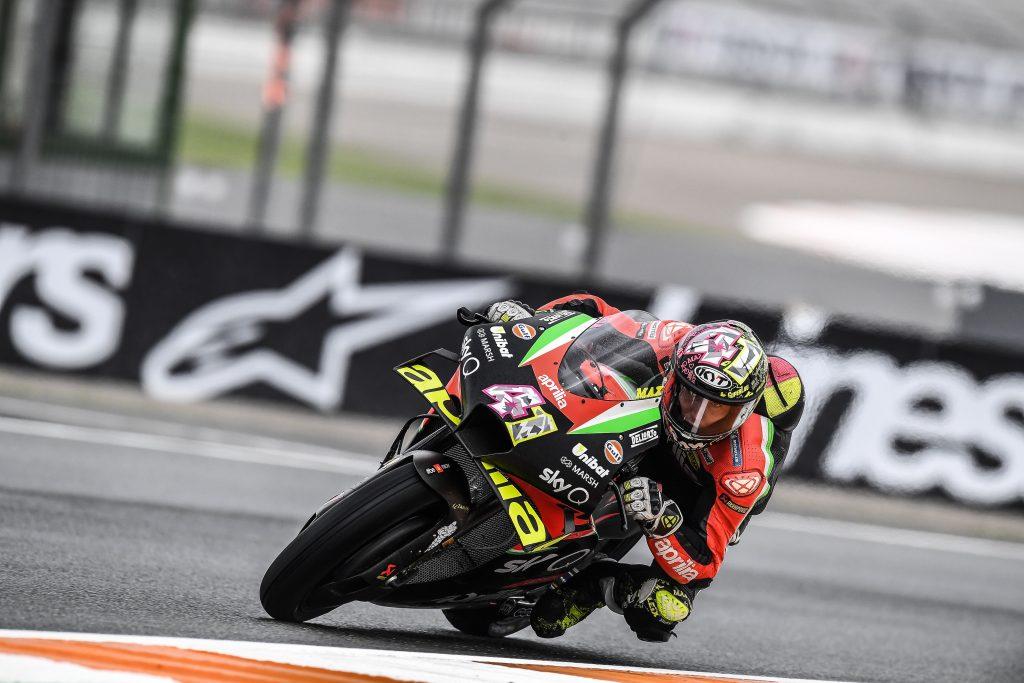 ALEIX CHIUDE LE PRIME SESSIONI A VALENCIA CON IL SECONDO TEMPO - Gresini Racing