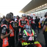 APRILIA RACING CONFIRMS ALL THEIR RIDERS
