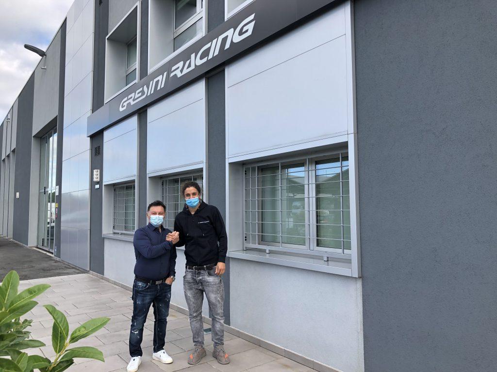 TEAM GRESINI MOTOE: FERRARI CONFIRMED AS MANTOVANI JOINS THE SQUAD     - Gresini Racing