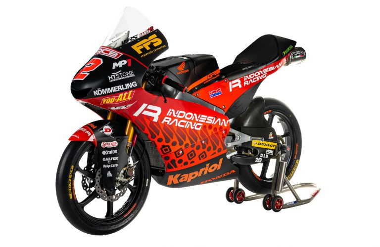 THE INDONESIAN RACING GRESINI MOTO3 TEAM IS LAUNCHED