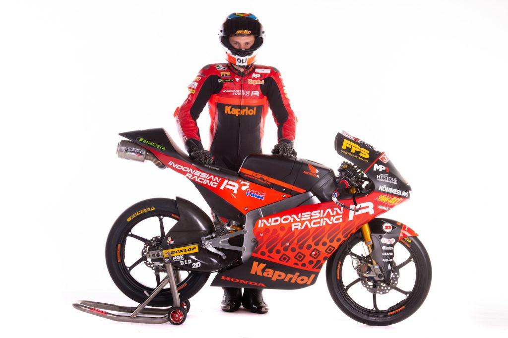 UFFICIALE L'INDONESIAN RACING GRESINI MOTO3 TEAM - Gresini Racing