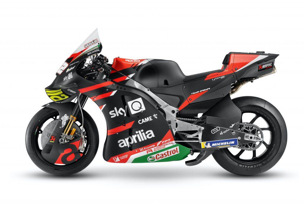 ANDREA DOVIZIOSO PROVERA' LA NUOVA APRILIA RS-GP - Gresini Racing