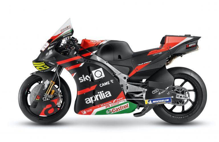 APRILIA RACING team Gresini SI PRESENTA E SVELA LA RS-GP 2021 CON TANTE INNOVAZIONI