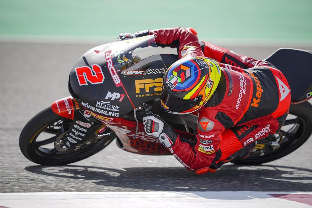 L'INDONESIAN RACING GRESINI MOTO3 SI PRESENTA: RODRIGO TERZO, ALCOBA SETTIMO - Gresini Racing