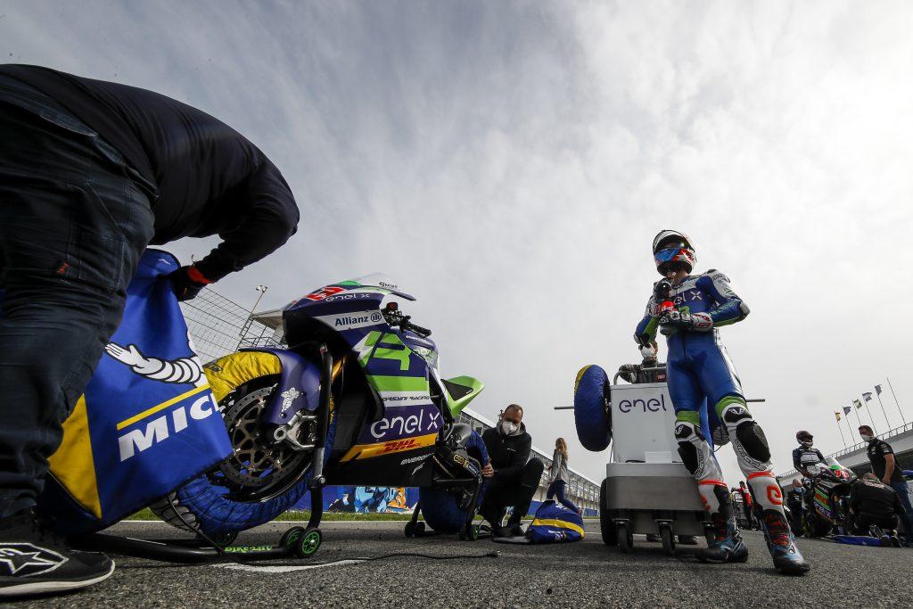 GIÀ COMPETITIVO L'INDONESIAN E-RACING GRESINI MOTOE A JEREZ   - Gresini Racing
