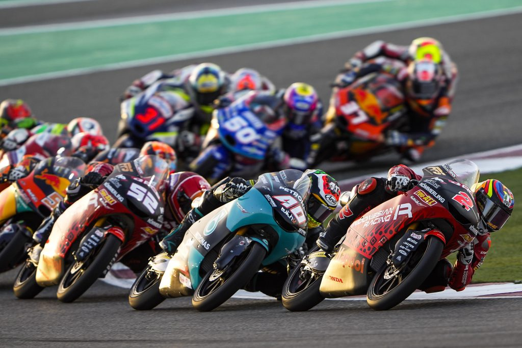 DISAPPOINTING RACE DAY FOR TEAM INDONESIAN RACING GRESINI MOTO3 AT LOSAIL    - Gresini Racing