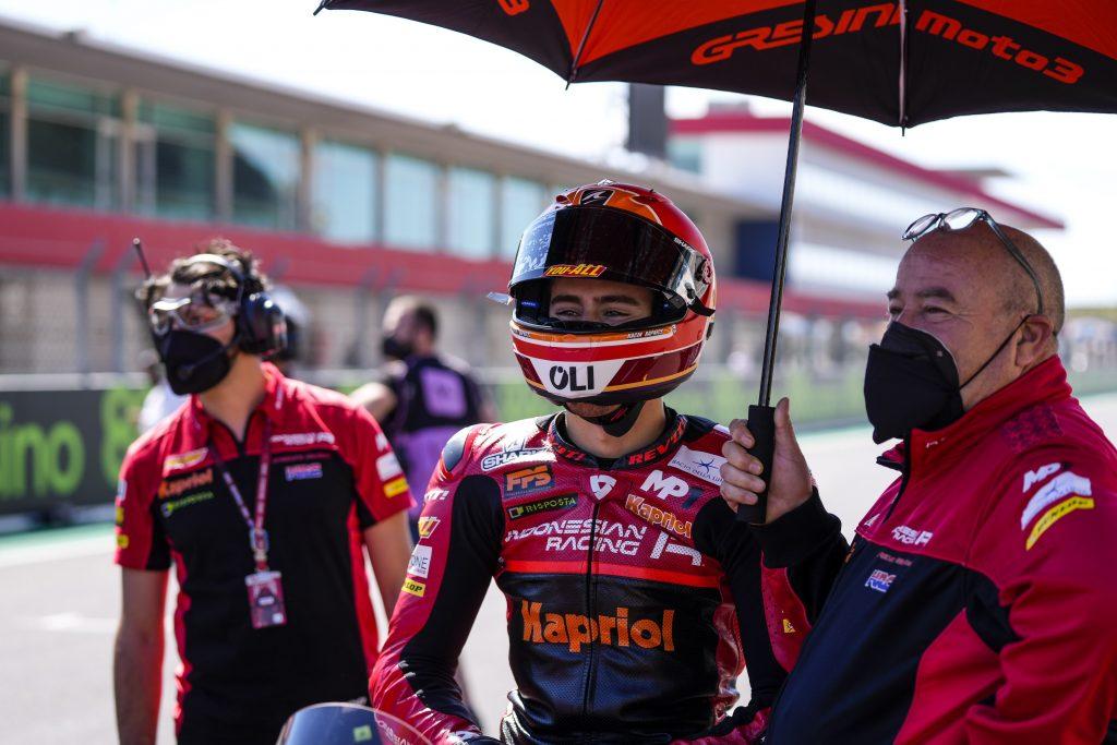 RODRIGO, IL RECORD DELLA PISTA NON BASTA. ALCOBA A PUNTI - Gresini Racing