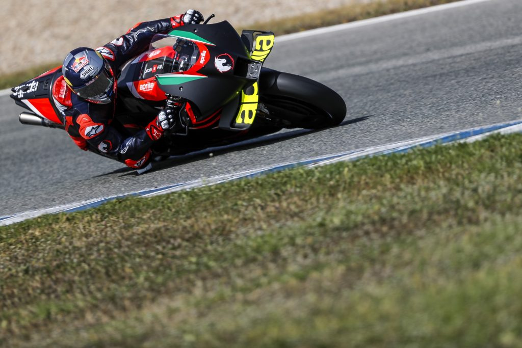 APRILIA RACING AND ANDREA DOVIZIOSO CONCLUDE THREE DAYS OF WORK ON THE RS-GP IN JEREZ - Gresini Racing