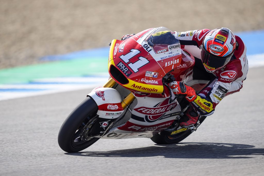 IL TEAM FEDERAL OIL IN TOP10 NELLE LIBERE ANDALUSE   - Gresini Racing