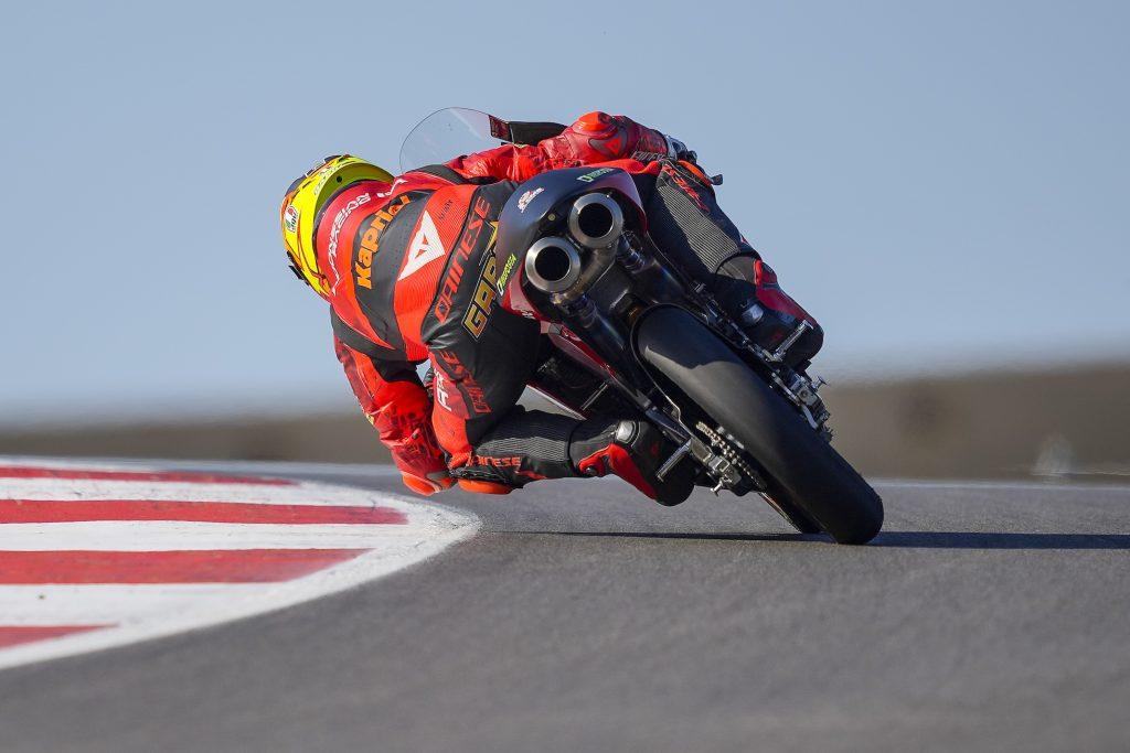 PORTIMAO: ALCOBA PRIMA FILA BEFFARDA, RODRIGO IN TOP5   - Gresini Racing