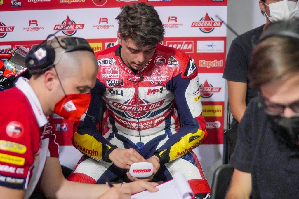 DIGGIA CARICO NELLE LIBERE DEL #DOHAGP   - Gresini Racing
