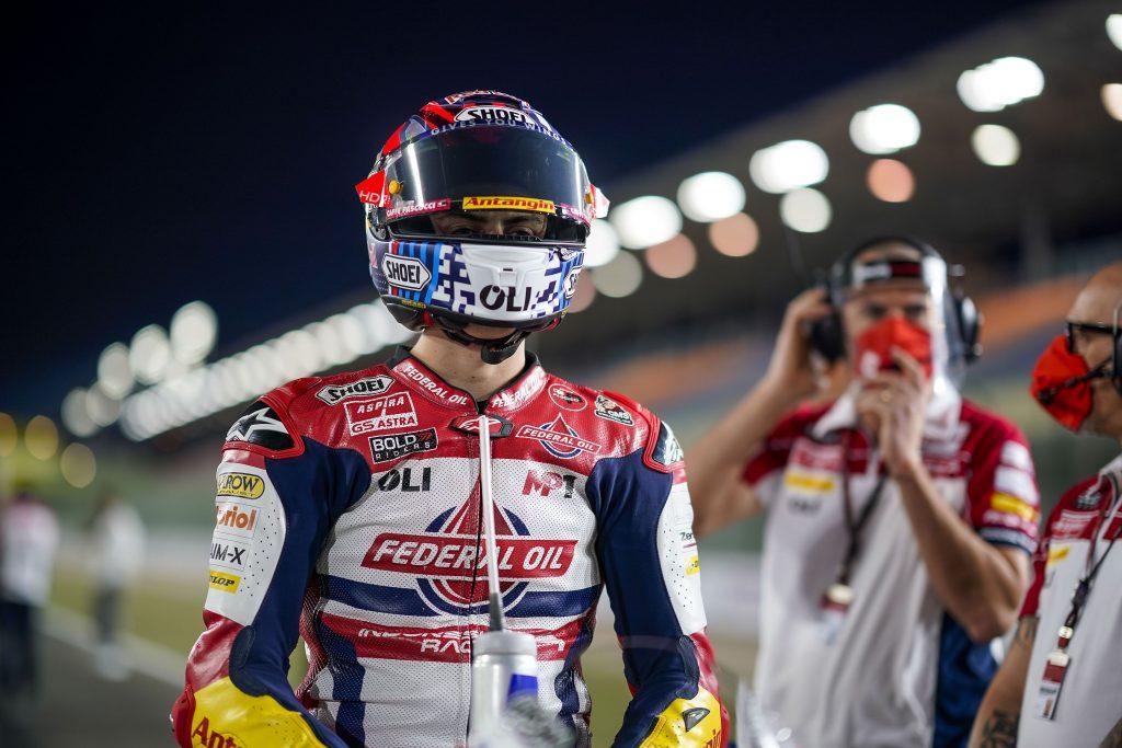 TOP10 PER DI GIANNANTONIO A LOSAIL - Gresini Racing