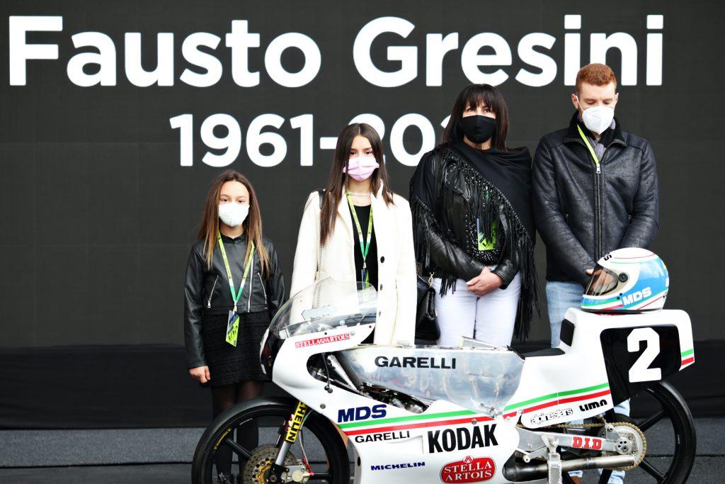 FORMULA1 E MOTOGP INSIEME: IL TRIBUTO A FAUSTO GRESINI   - Gresini Racing
